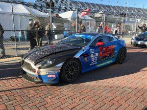 Kris Wilson's Second Place #99 Automatic Racing Aston Martin Vantage at Daytona