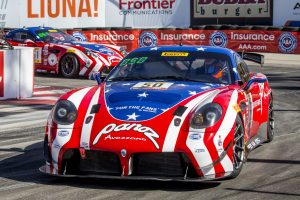 Panoz Scored a Double Podium at the 2019 Grand Prix of Long Beach on Forgeline One Piece Forged Monoblock GS1R Wheels