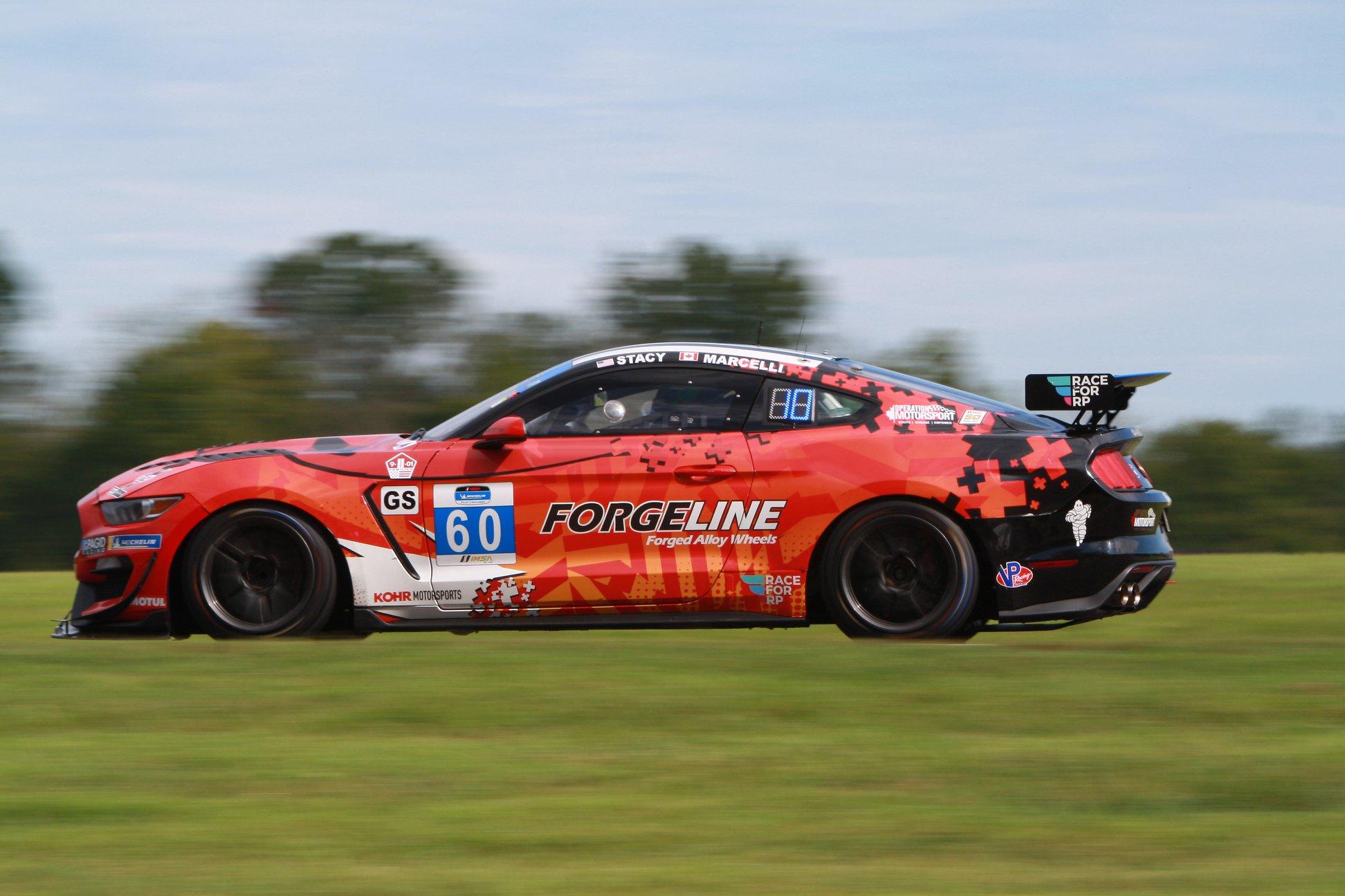 KohR Motorsports Mustang GT4 Wins at VIR