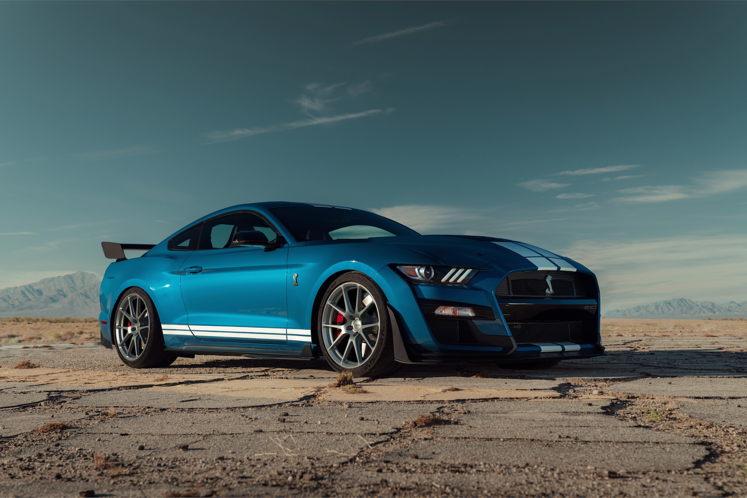 2020 Ford Mustang Shelby GT500 on Forgeline One Piece Forged Monoblock GS1R Wheels