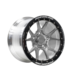 15-inch GS1R Beadlock Finished in Transparent Smoke with Satiun Black Beadlock Ring