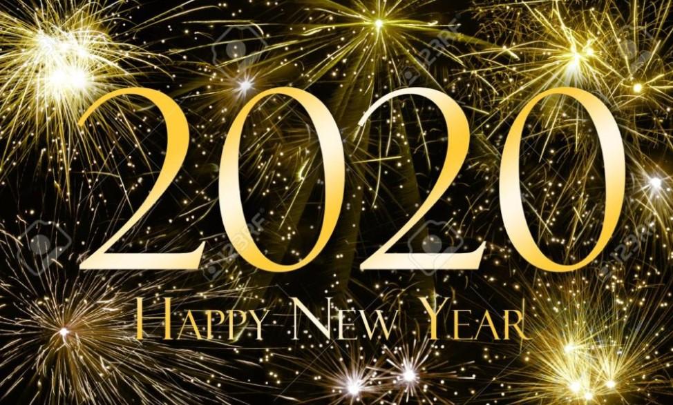 Happy New Year 2020 Fireworks