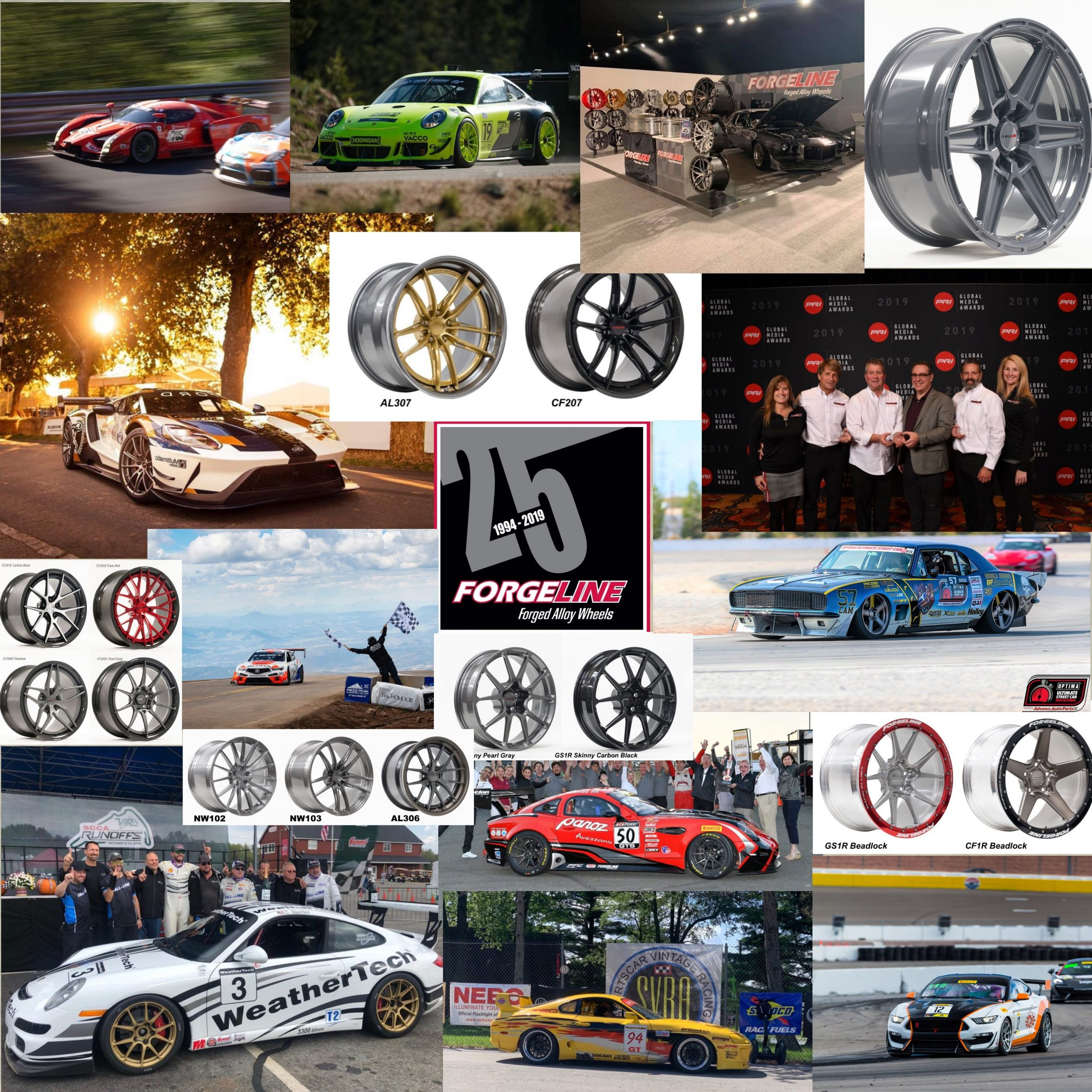 Forgeline's 2019 Year in Review Photo Collage