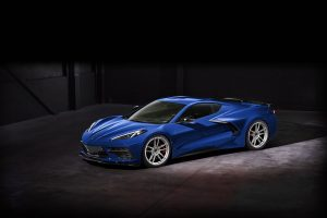 2020 Chevrolet C8 Corvette on Forgeline One Piece Forged Monoblock NW103 Wheels