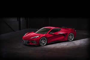 2020 Chevrolet C8 Corvette on Forgeline One Piece Forged Monoblock NW101 Wheels
