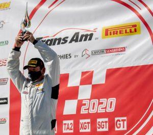 Ken Thwaits Wins 2020 Trans Am XGT Championship in Audi R8 LMS on Forgeline One Piece Forged Monoblock GTD1 Wheels