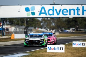 Rebel Rock Racing's Camaro GT4.R Wins at Sebring on Forgeline One PIece Forged Monoblock GS1R Wheels