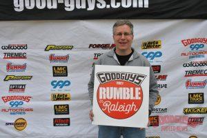 "Bob Bertelsen Wins at Goodguys Raleigh in the ""Green Mamba"" Corvette on Forgeline CV3C Wheels"