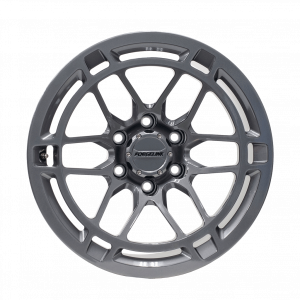 Forgeline TR11 Finished in Pearl Gray - Front
