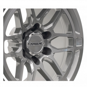 Forgeline TR11 Finished in Pearl Gray - Close-Up