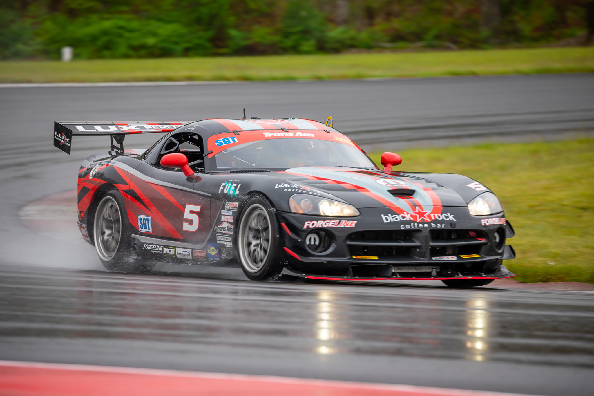 Lux Performance Dodge Vipers Take Trans Am SGT at The Ridge on Forgeline Forged Three Piece GA3R-6 Wheels