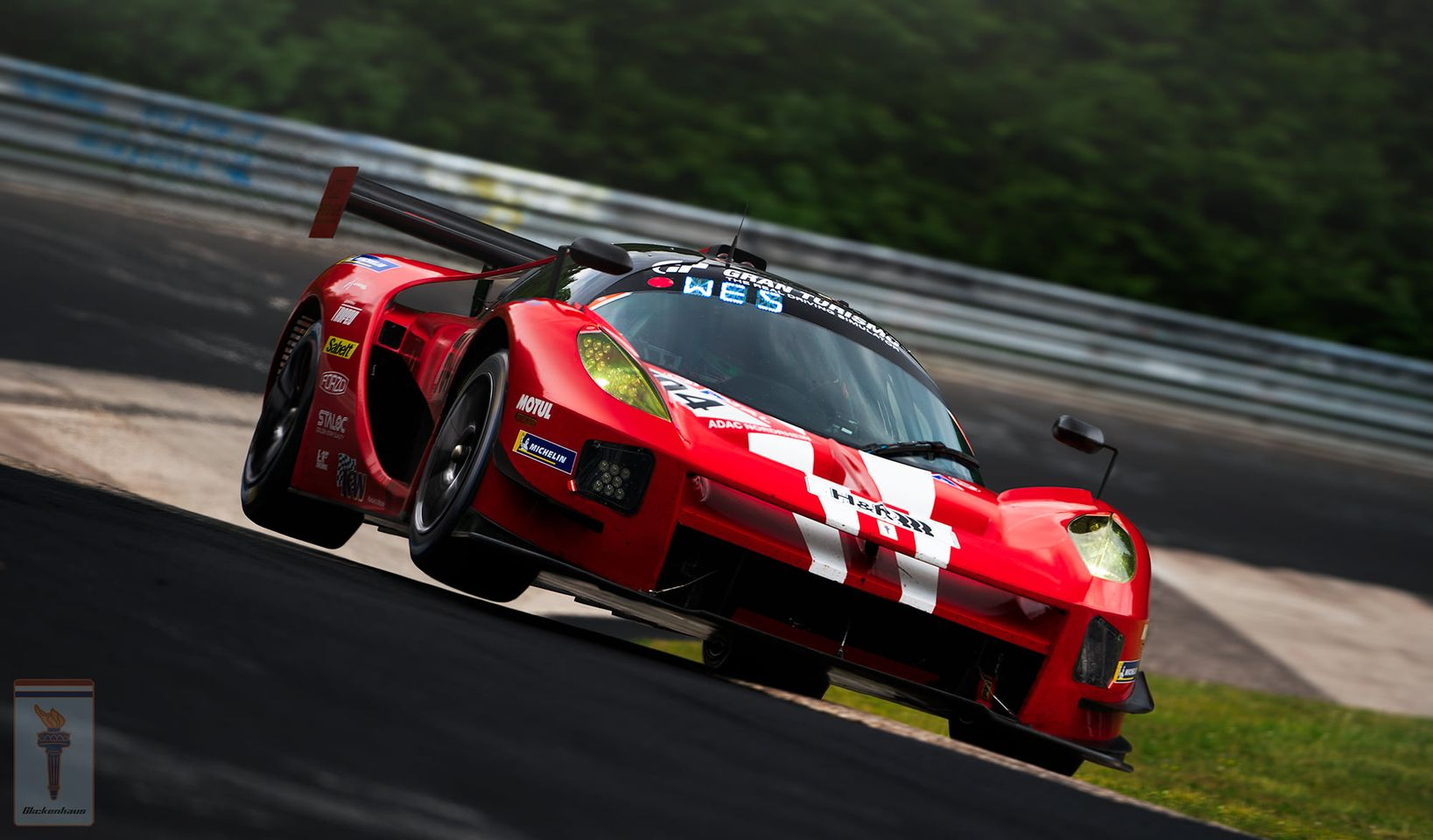 Glickenhaus Finishes Tenth 24 Hour Race at Nurburgring in the SCG004C on Forgeline One Piece Forged Monoblock GTD1 Wheels