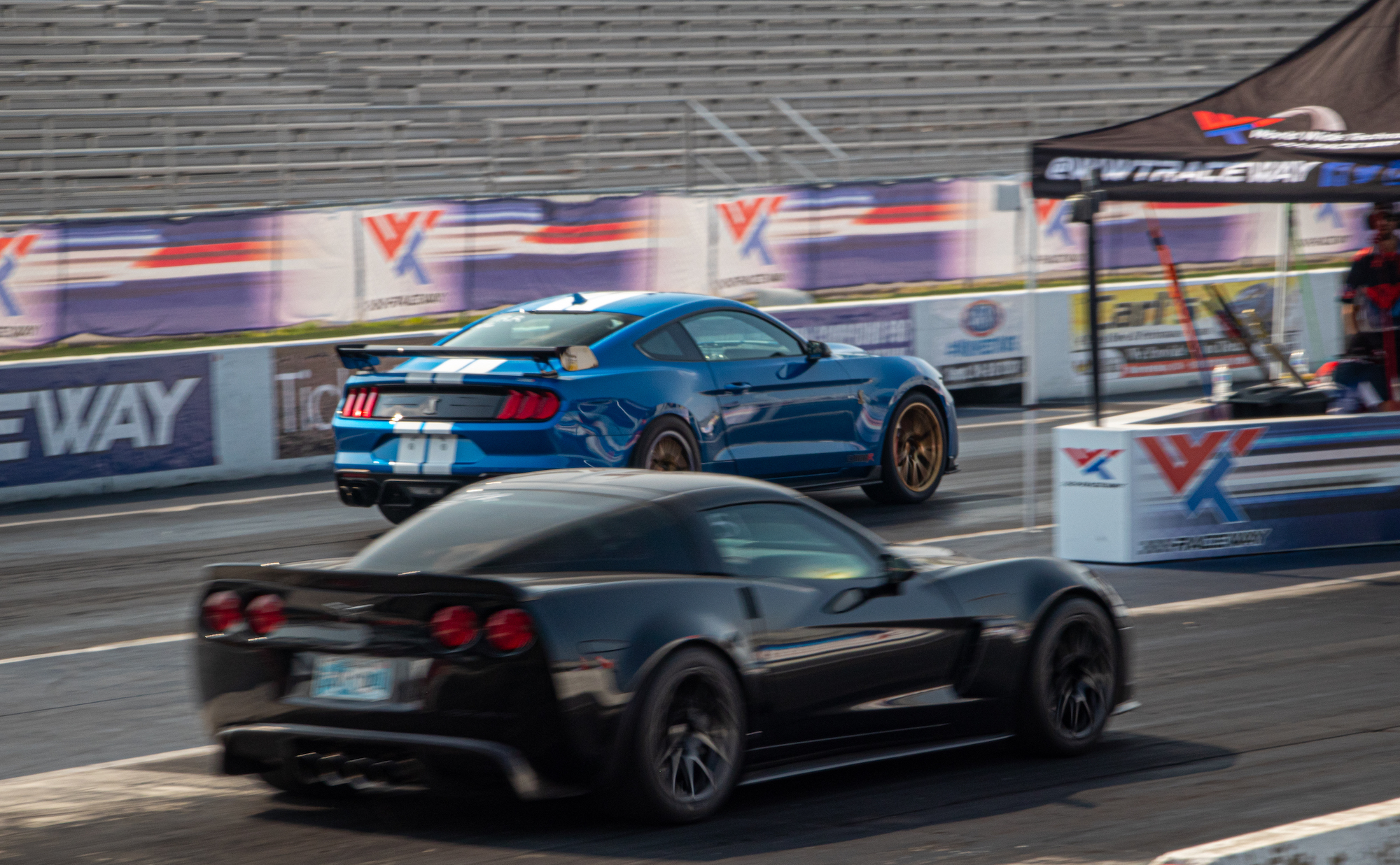Forgeline Equipped Cars Racing at the 2021 MITM Elite in St Louis