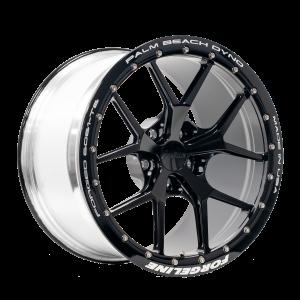 VX1R Beadlock 17 inch GT500 Gloss Black-transparent background